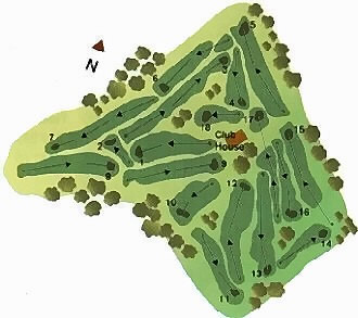 Course Map Golfe da Ilha Terceira