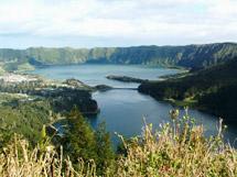 Sete Cidades Twin Lakes
