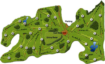 Course Map Batalha Golf Club