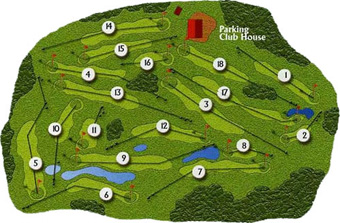 Course Map Furnas Golf Course